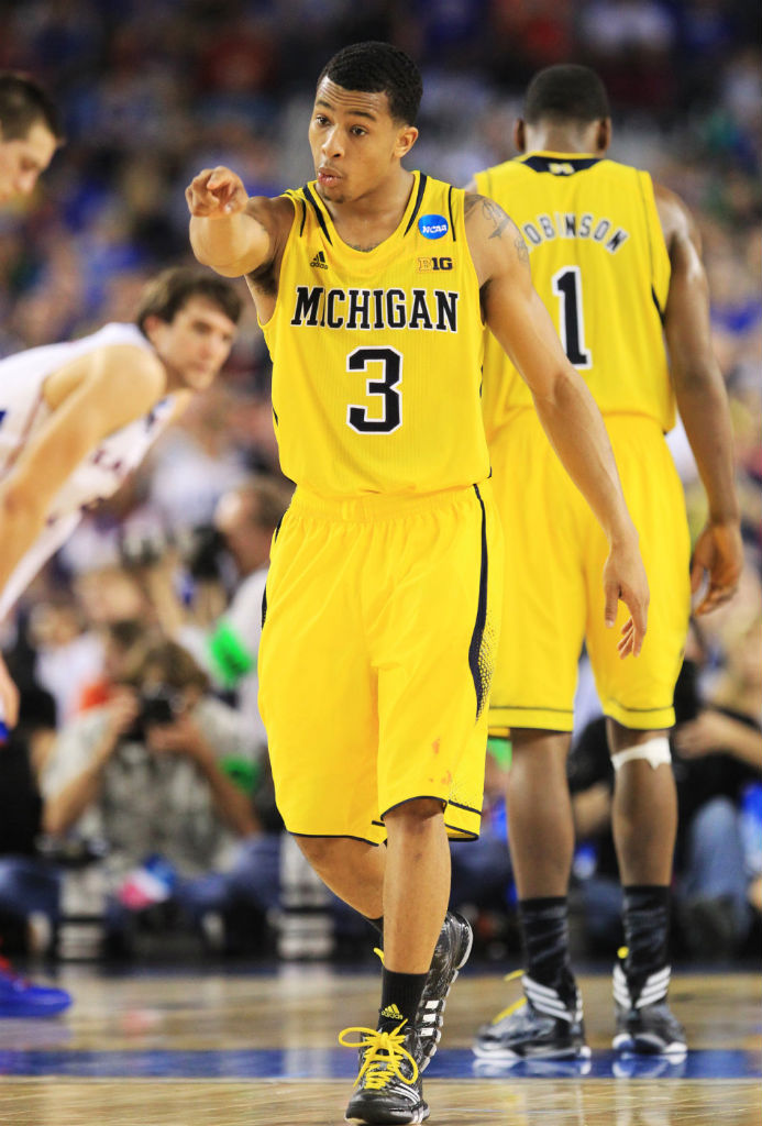 Trey Burke wearing adidas Crazyquick (3)