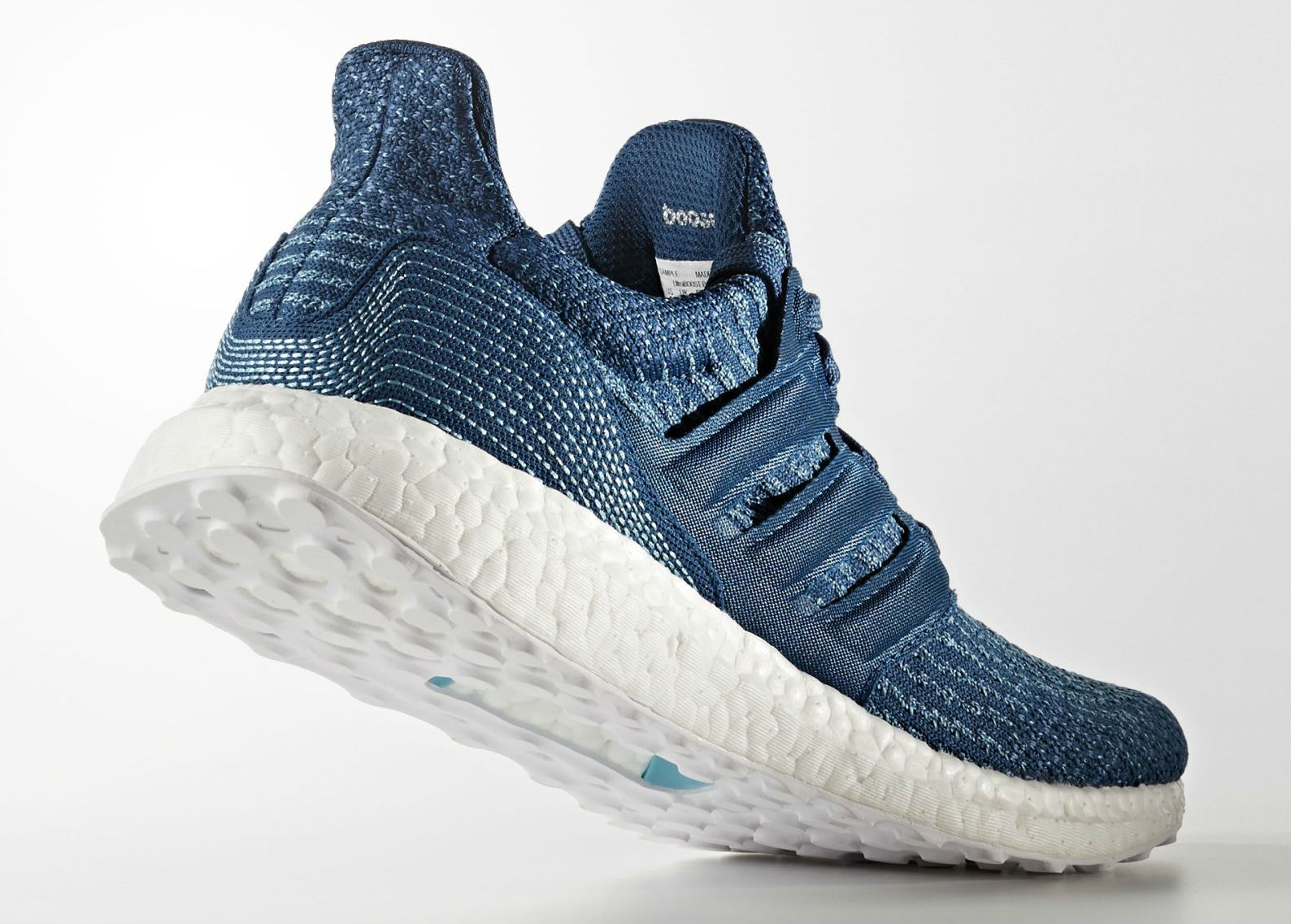 15fb0ce91c6bc Parley x adidas Ultra Boost Blue Men   Women BB4762 BB1978