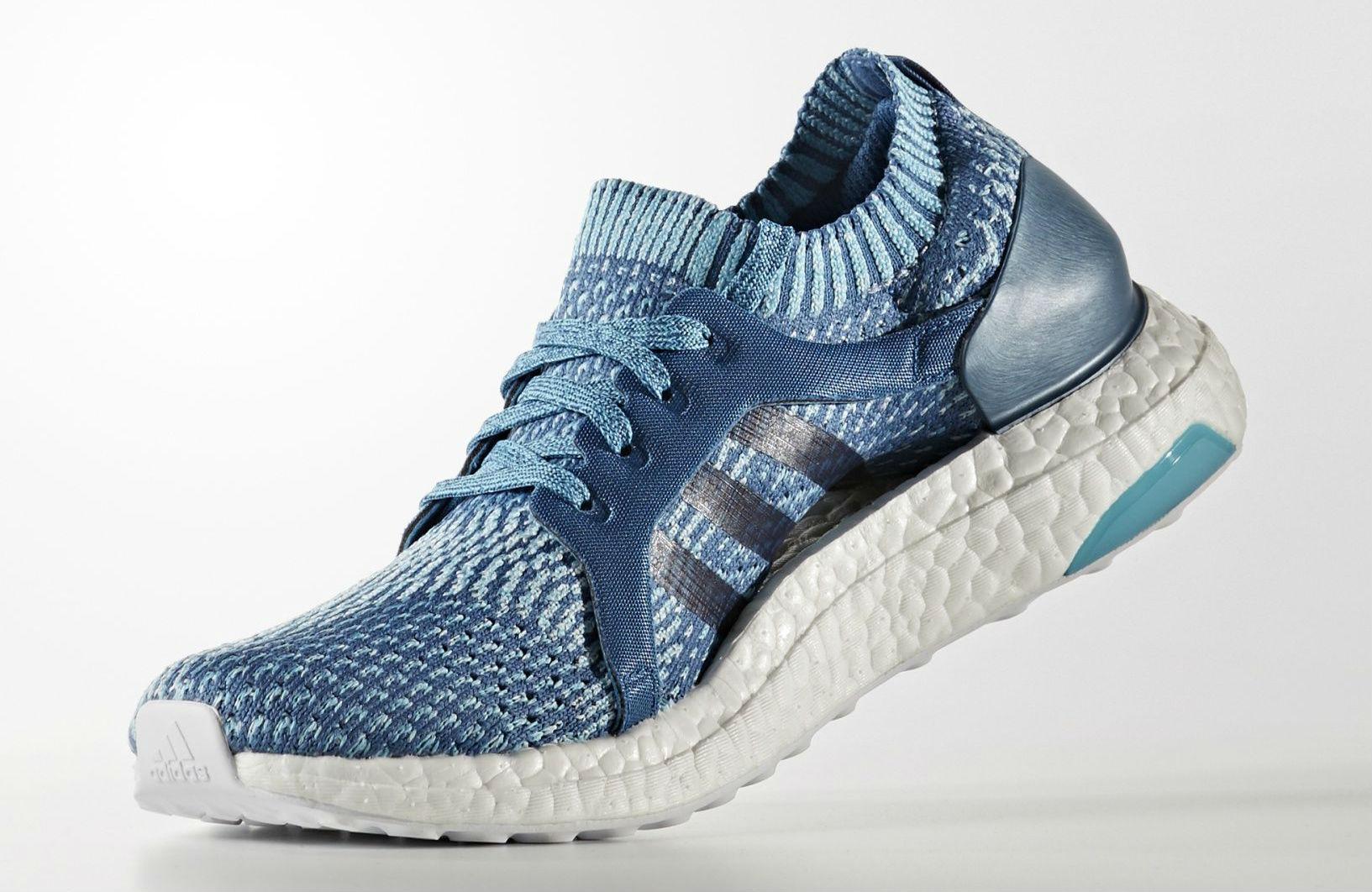 4584c13ee9e9b8 Parley x adidas Ultra Boost Blue Men   Women BB4762 BB1978