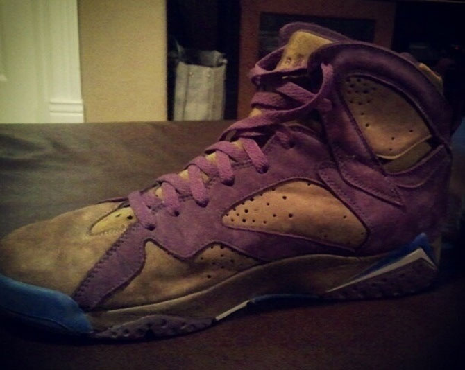 Air Jordan 7 Peanut Butter & Jelly Sample