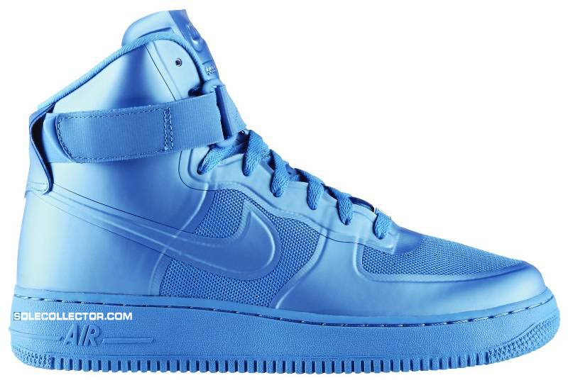 new concept d22ce 3879a Nike Air Force 1 Hi Hyperfuse Premium Blue Glow 454433-400
