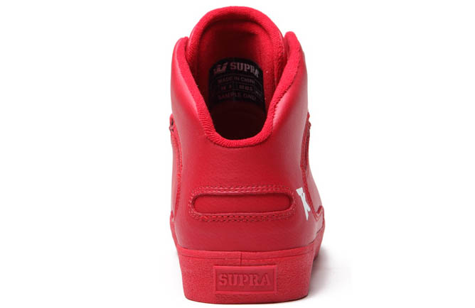 SUPRA Action Pack Society Mid Shoes Red (4)