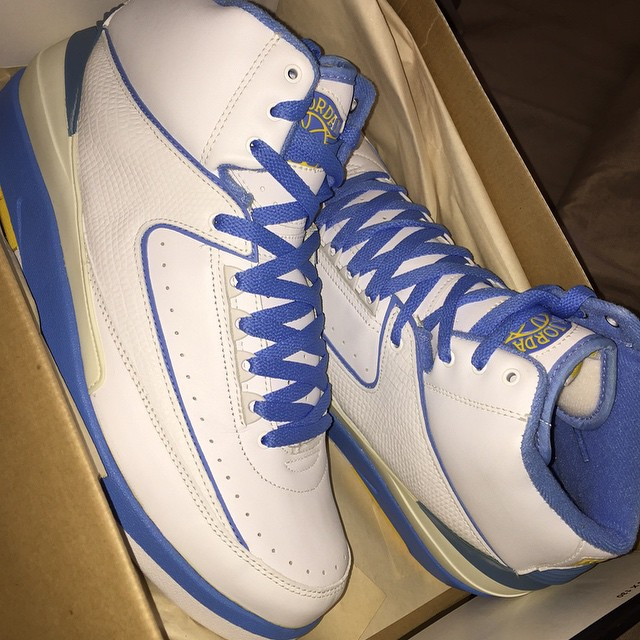 DJ Funk Flex Picks Up Air Jordan II 2 Melo
