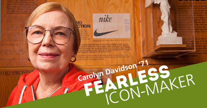 edafb7bf7 Meet the Woman Who Designed the Nike Swoosh