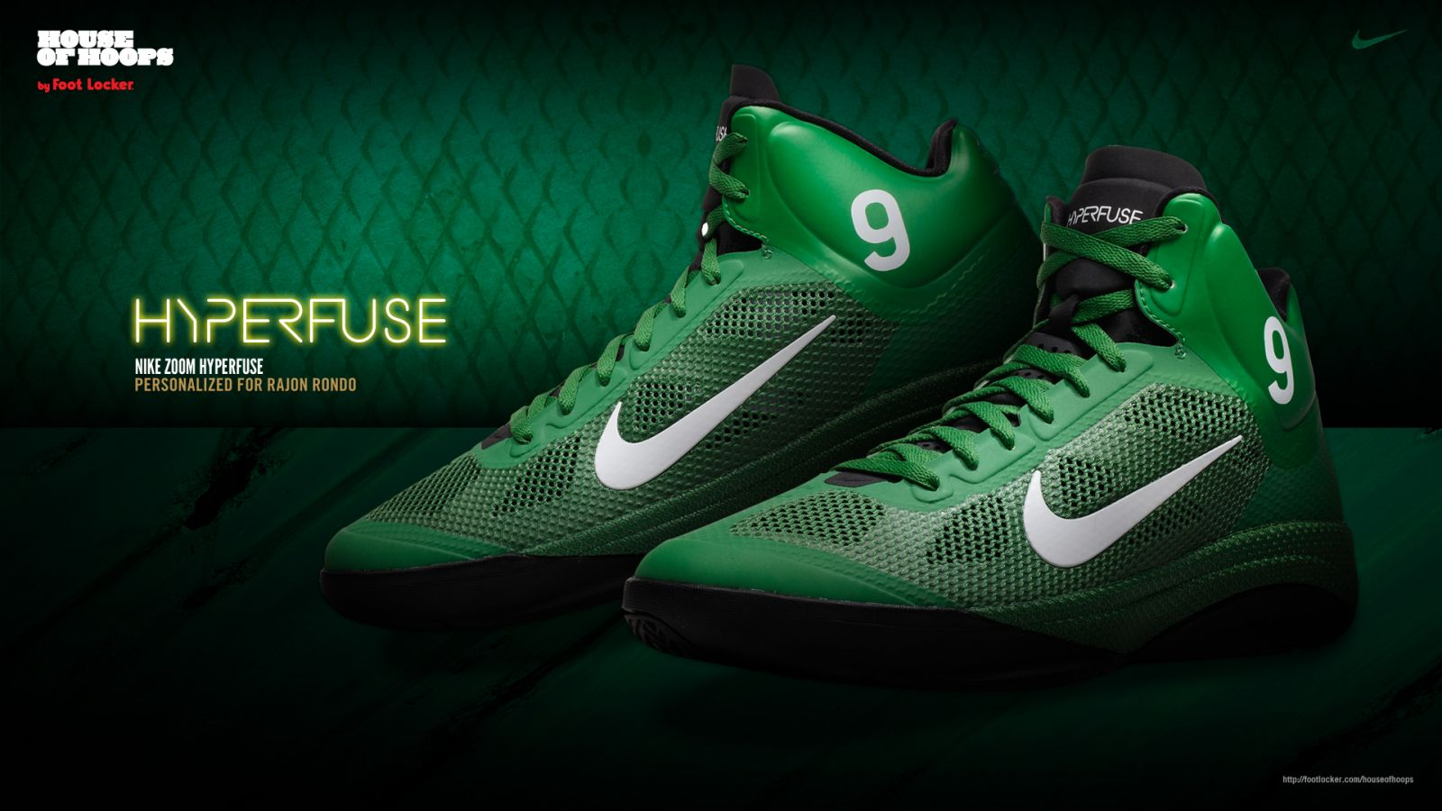 266b3381c0c HoH  Nike Zoom Hyperfuse - Rajon Rondo Player Edition