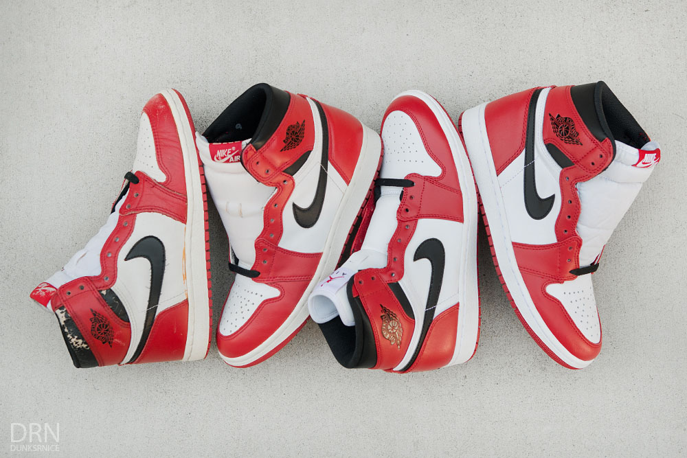 Comparing 30 Years of 'Chicago' Air Jordan 1 Releases | Sole ...