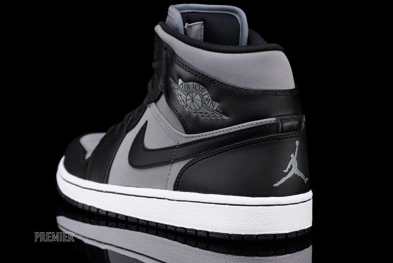 15066078bfdb3 Air Jordan 1 Phat Cool Grey Black White 364770-023 (5)