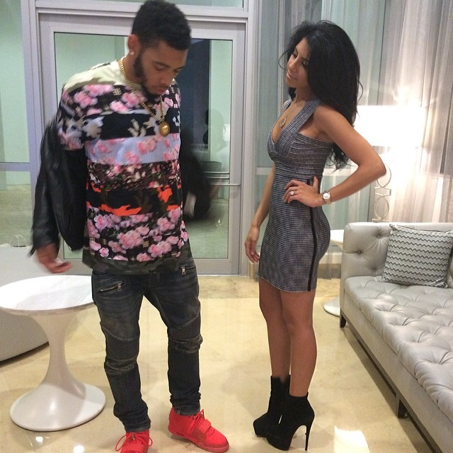 Joe Haden wearing Nike Air Yeezy 2 Red October