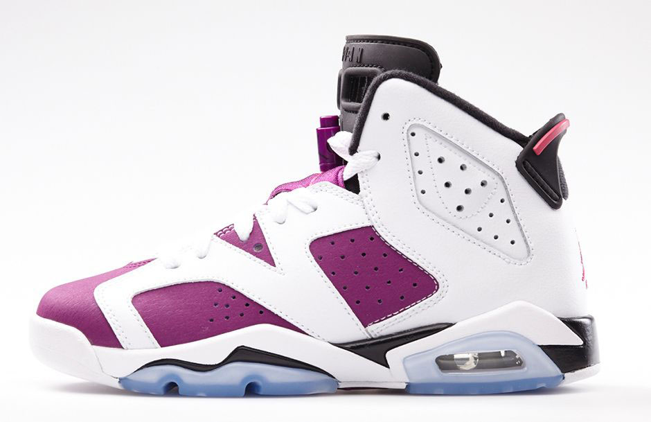 Air Jordan VI 6 GS Grape Vivid Pink 543390-127 (2)