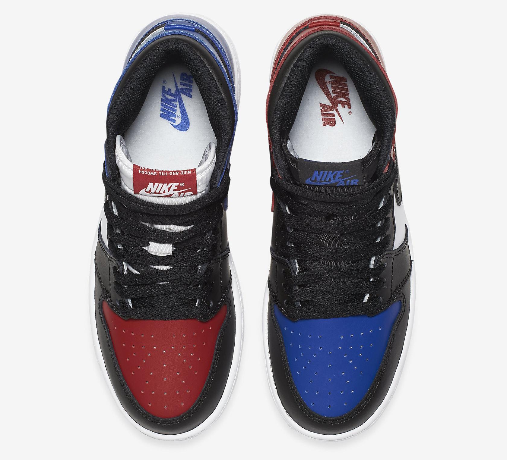buy popular b9f23 b8924 Image via Nike Top 3 Jordan 1 GS Top