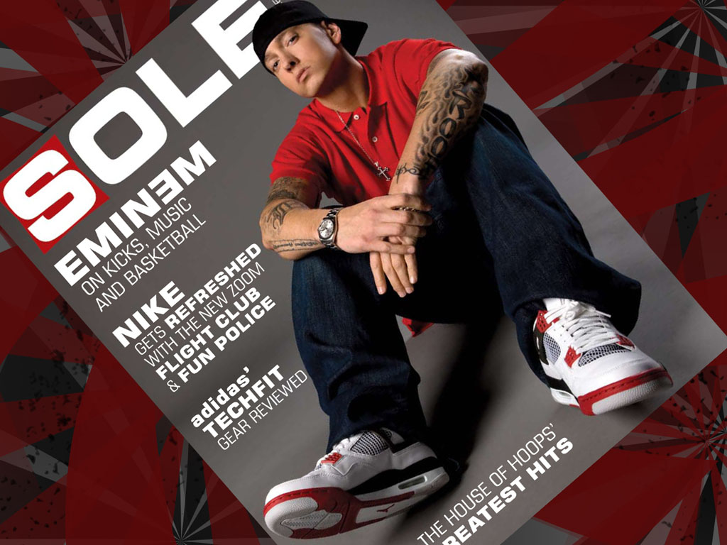 The 10 Best Partnerships Between Rappers and Sneaker Companies - Eminem x  Nike & Jordan