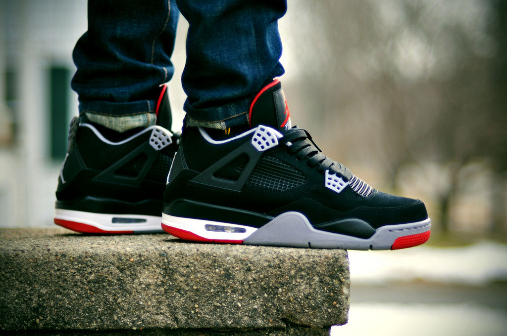 Spotlight: Forum Staff Weekly WDYWT? - 3.14.14 - dalazz wears Air Jordan 4 Retro Black/Red