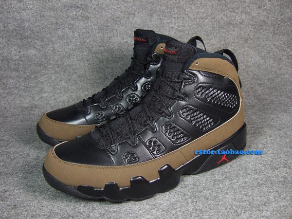 sports shoes f4be4 cd2a1 Air Jordan IX 9 Olive 302370-020 (4)