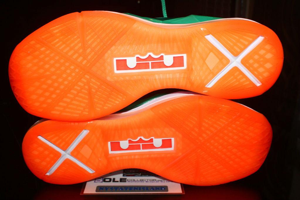 half off 6bbd4 c5a87 Nike Lebron X iD Miami Dolphins by nystatenisland (10)