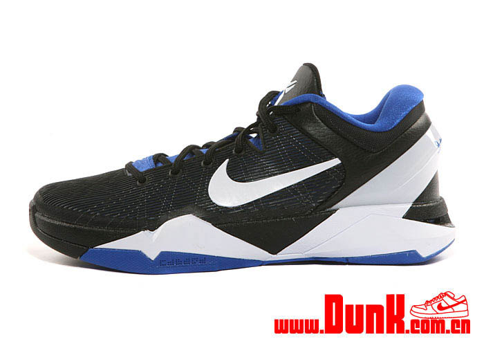 Nike Kobe VII System Duke Shoes Treasure Blue White Black 488370-400 (1)