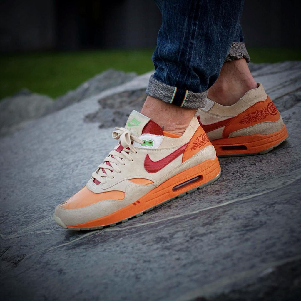 online retailer 567ca a4a7e Size 12 2006 Nike Air Max 1 Kiss of Death CLOT 313227- Nike Nike Air Max 1  x CLOT What You Wore The 50 Best SoleToday Pics On Instagram Of 2015 Sole  ...