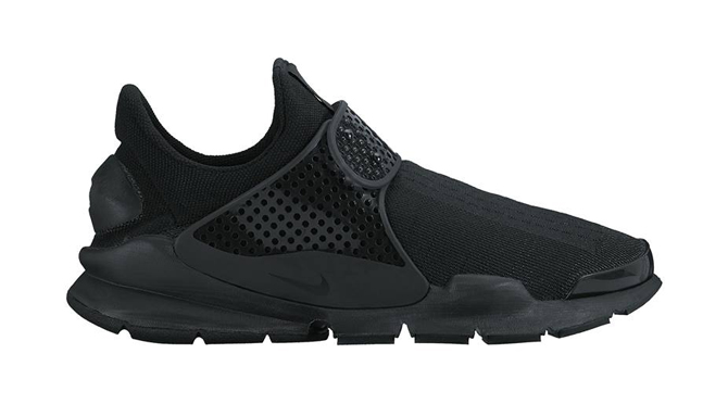new product e3f52 82f73 Blackout Nike Sock Darts