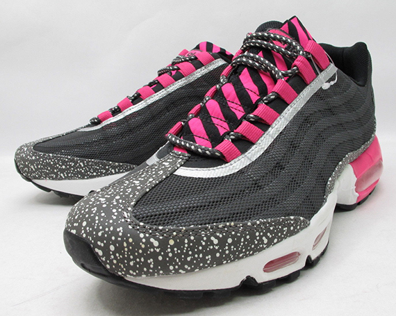 Nike Air Max 95 PRM Tape BlackSilver Pink | Sole Collector