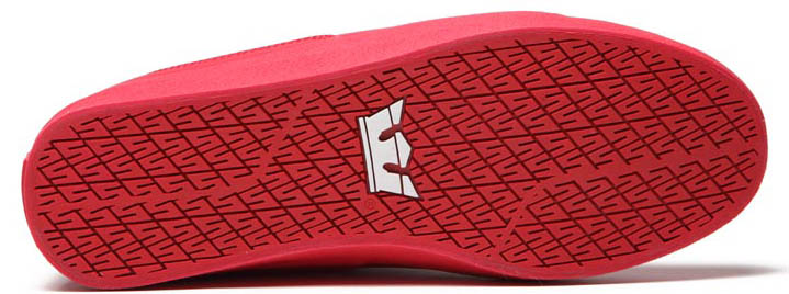 SUPRA Action Pack Society Mid Shoes Red (6)