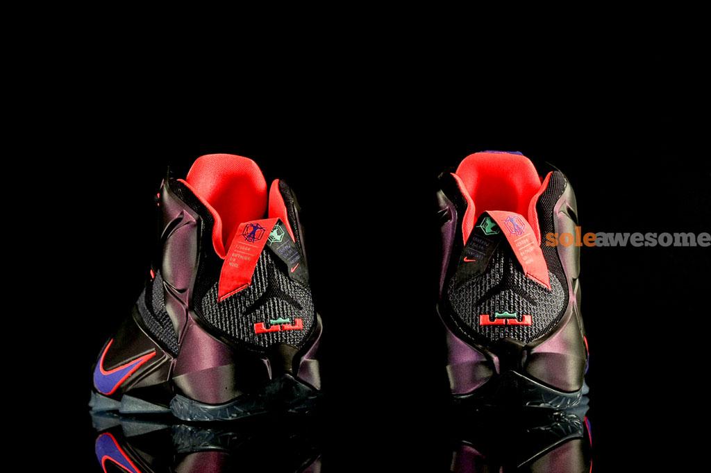 Nike LeBron 12 Instinct Cave Purple Hyper Crimson