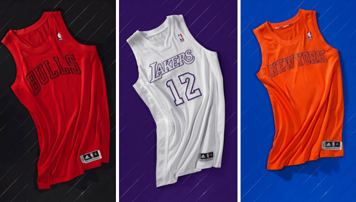Christmas Jerseys Nba 2020 NBA & adidas Unveil BIG Color Christmas Uniforms | Sole Collector