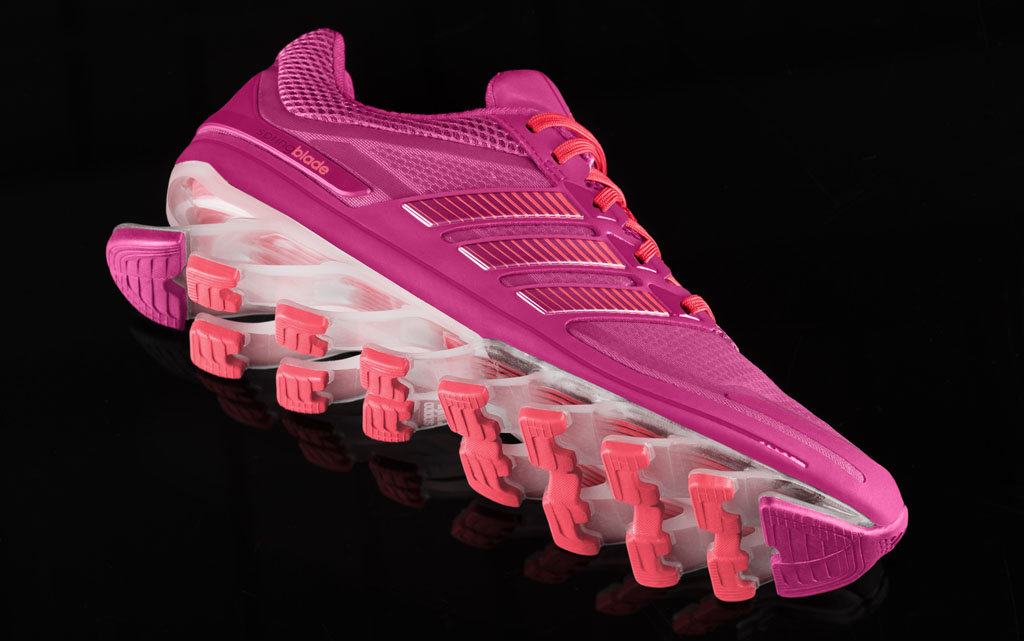 f49d2d5bbcef adidas SpringBlade Running Shoe Women s Pink (2)