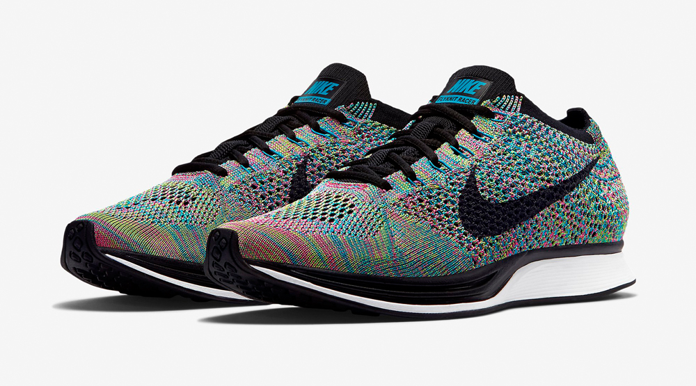 dc24e784b2c Rainbow' Nike Flyknit Racers Releasing Soon | Sole Collector