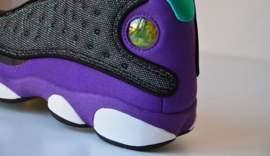 Air Jordan Retro 13 Black And Purple