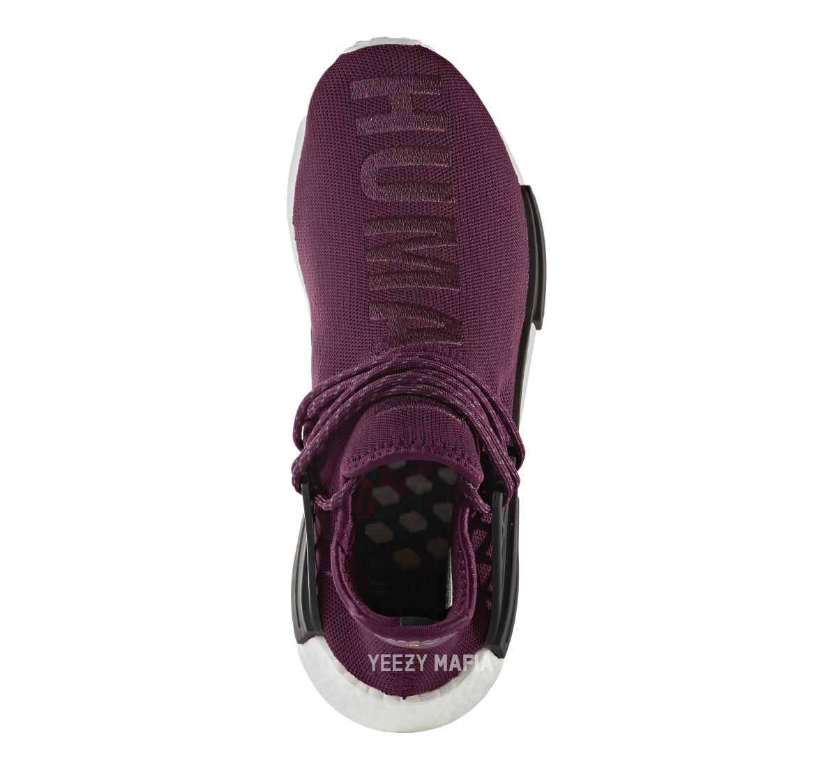 Adidas NMD Pharrell Noble Crimson bb0617 Top