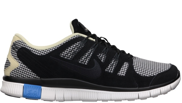 Nike Free 5.0 EXT QS Black/Anthracite-Black Heather-Summit White