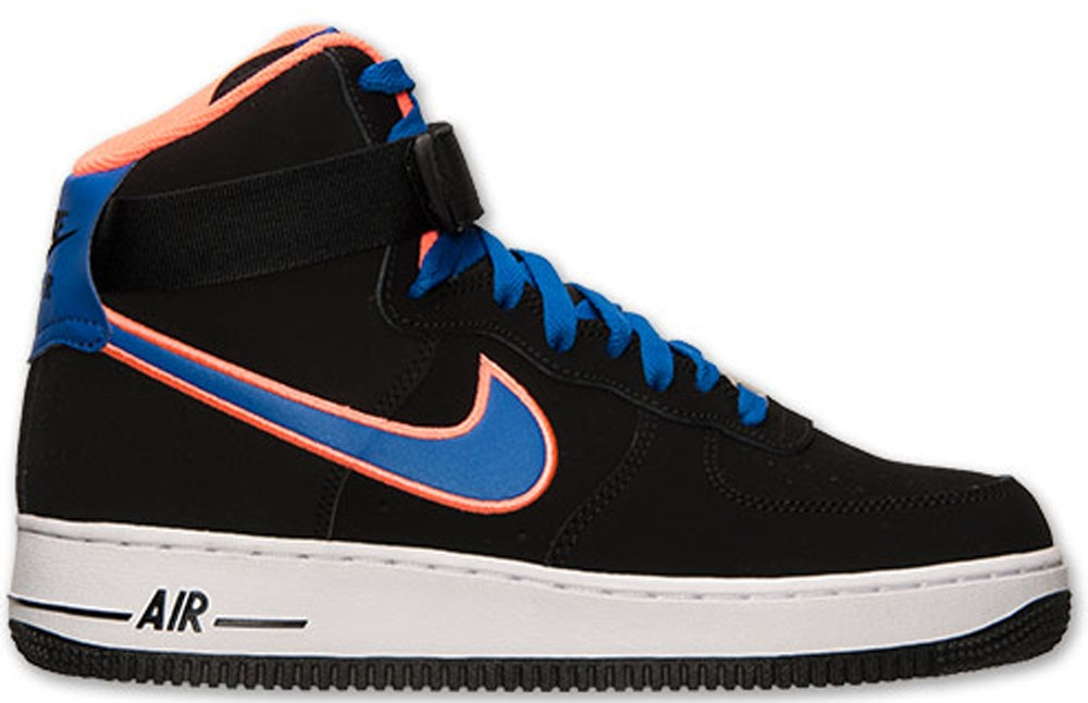 Nike Air Force 1 High Black/Game Royal-Bright Mango