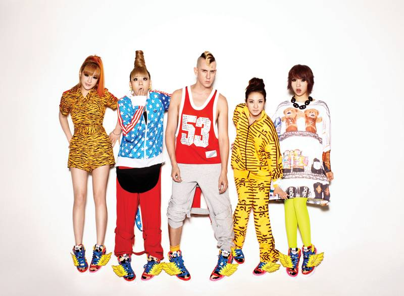 adidas Originals x Jeremy Scott for 2NE1 2