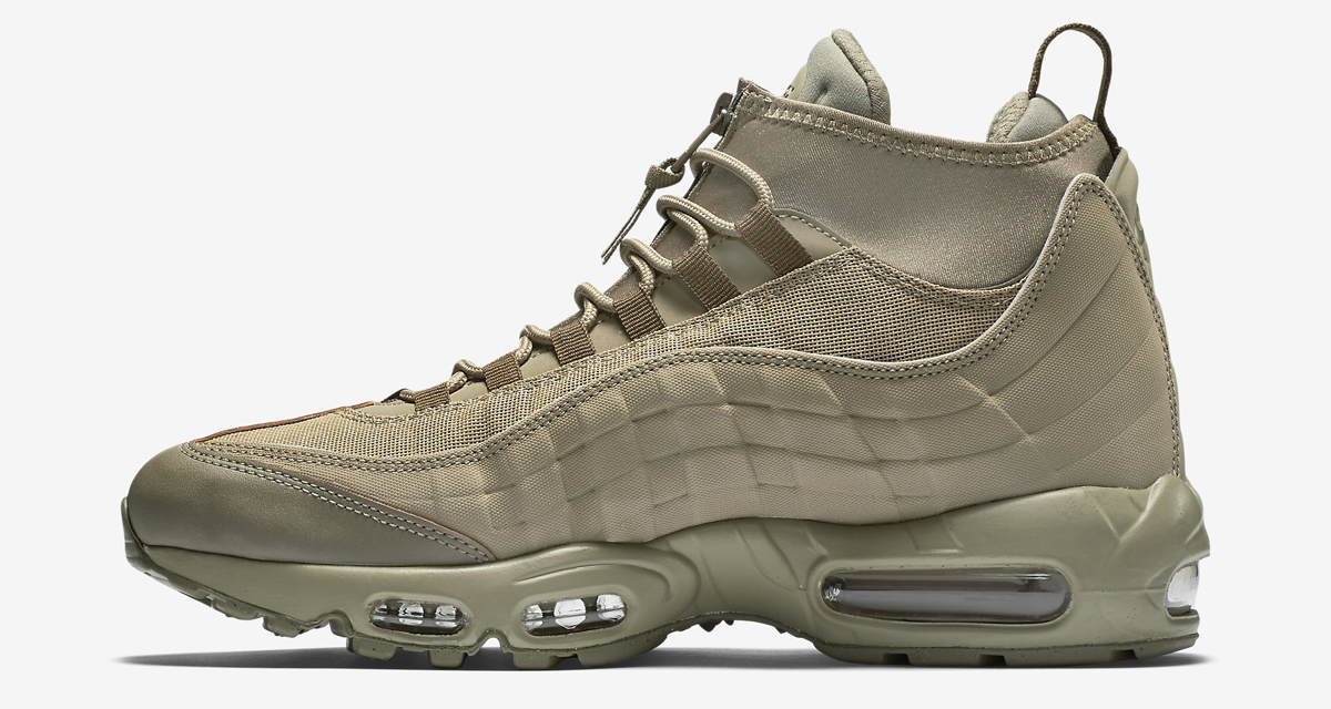 60d390a133 Nike Gives the Air Max 95 a Weird Winter Makeover | Sole Collector