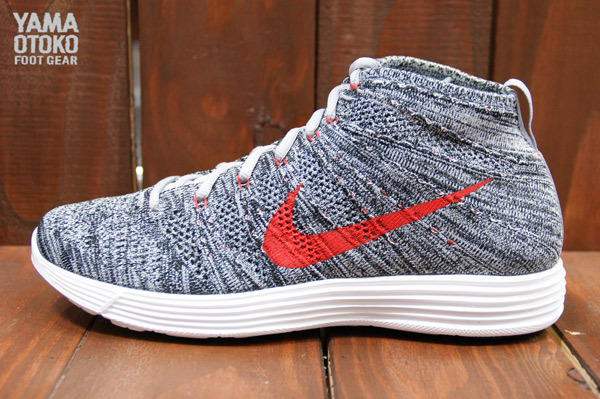 acc1959b51 The Wolf Grey Black-White Nike Lunar Flyknit Chukka is expected to release  next month.