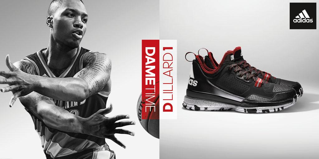purchase cheap 6e0bd 53874 adidas D Lillard 1 Officially Unveiled