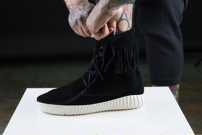 sneakers for cheap 23132 20ed4 adidas Yeezy Boost Moccasin Custom