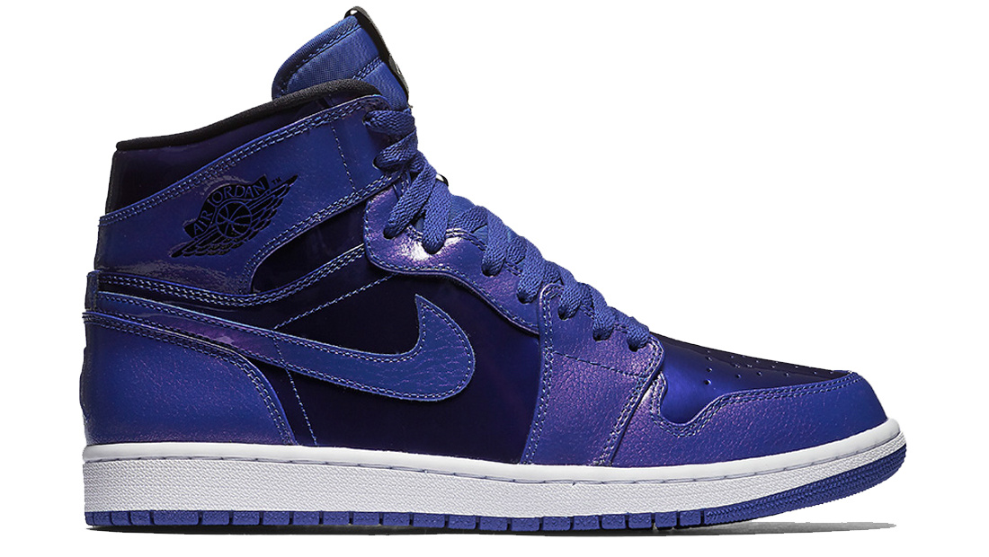 Air Jordan 1 Retro High Deep Royal Patent Sole Collector Release Date Roundup