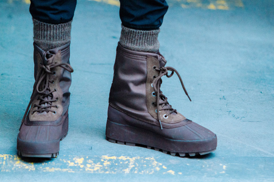 Kanye West x adidas Yeezy 950 Boot Brown