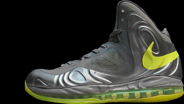 Nike Air Max Hyperposite Charcoal/Atomic Green-Black