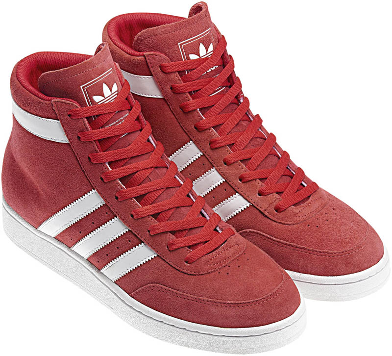 adidas Originals High Post Mid Light Scarlet White G50890 ... 7a9a729585