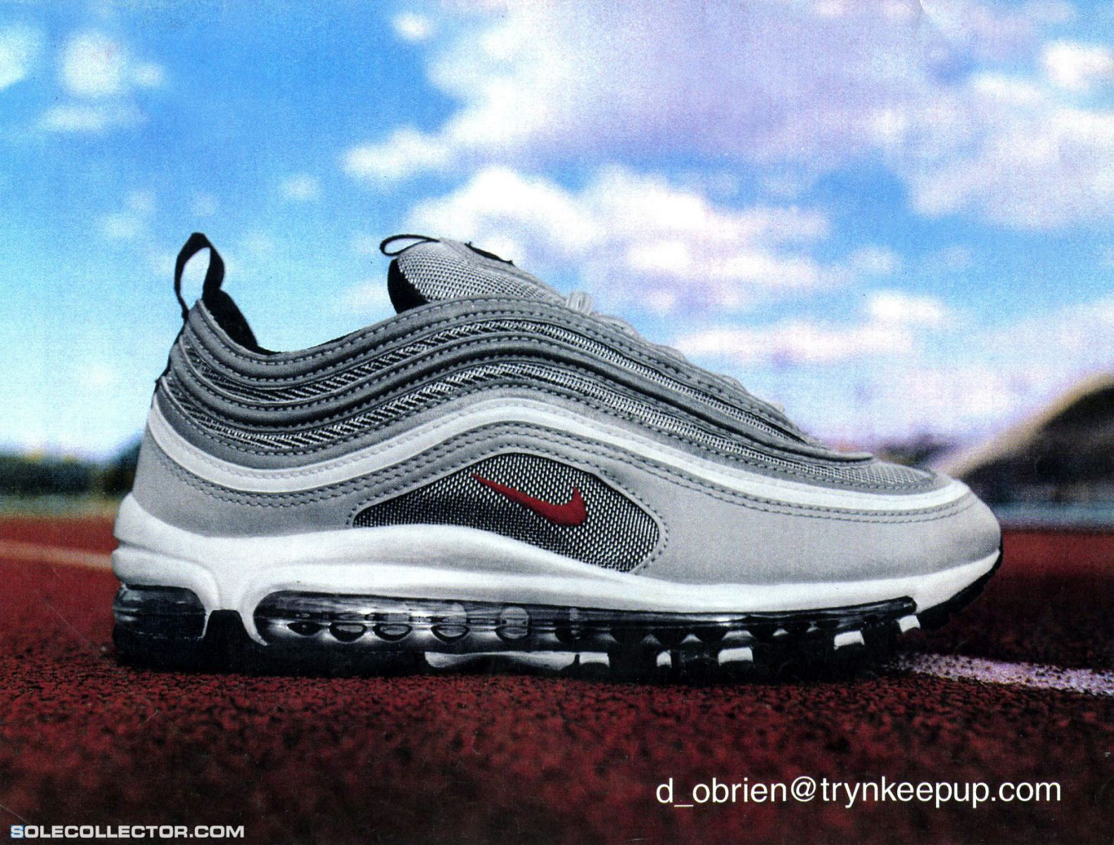 big sale 5ba0a 47b3b Vintage Ad: Nike Air Max 97 | Sole Collector