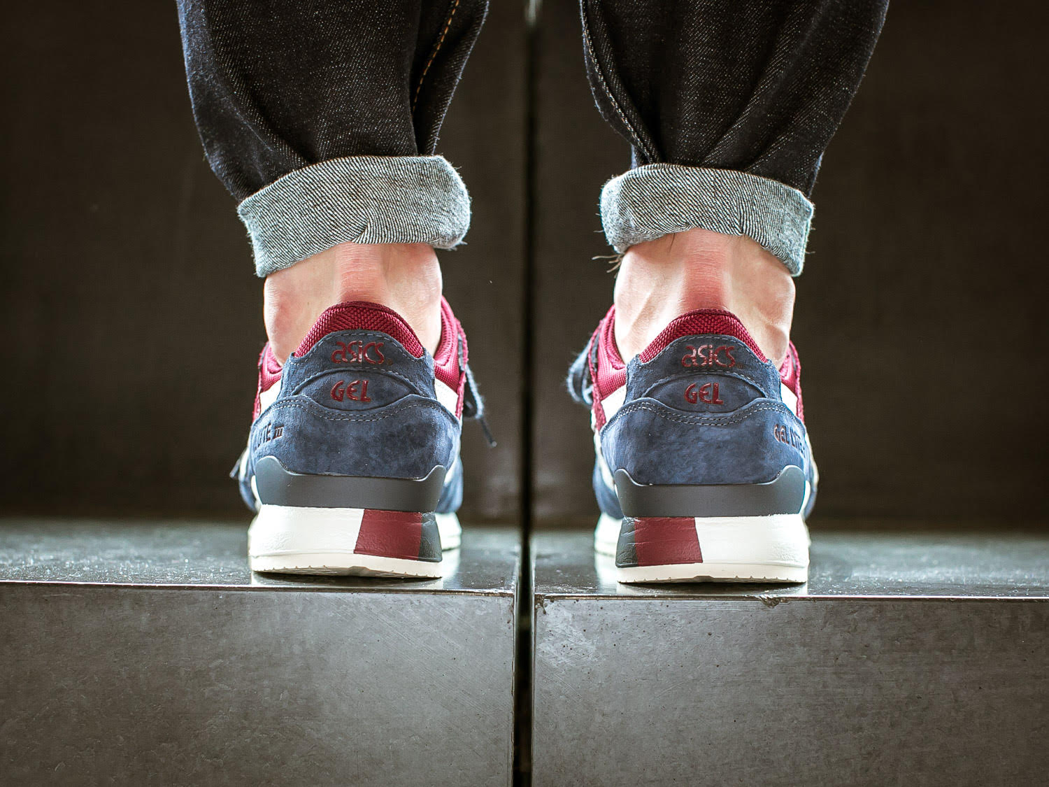 Asics Gel-Lyte III India Ink Heel