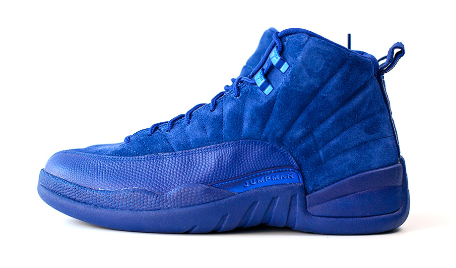 Air Jordan 12 130690-400 Blue Profile