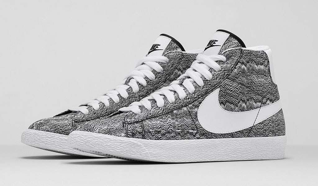 nike blazer mid qs marble mesh in shower