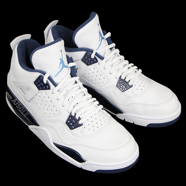 the best attitude 16726 0a505 An Early Look at the Remastered Air Jordan 4 Retro 'Columbia ...