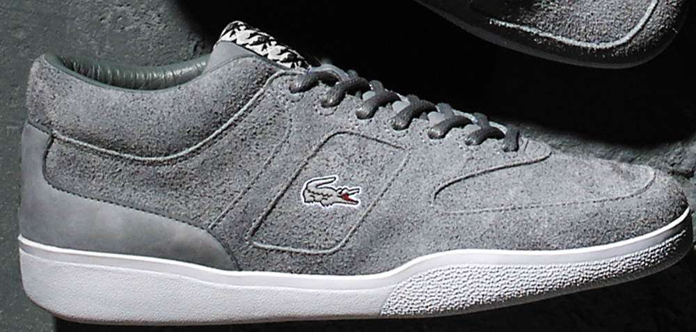 Footpatrol x Lacoste Halfcourt Grey/White