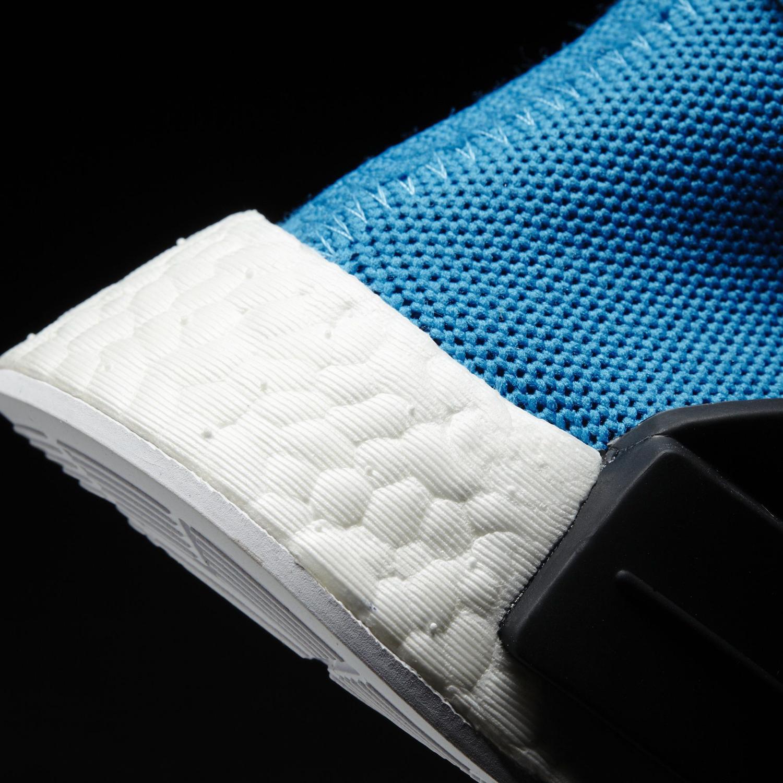 Pharrell Adidas NMD Blue BB0618 Heel Detail