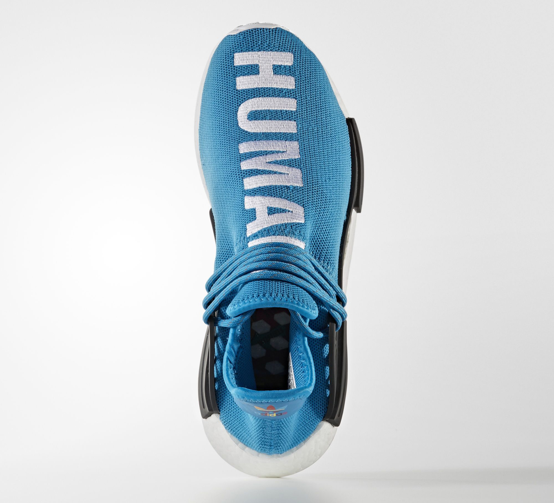 Pharrell Adidas NMD Blue BB0618 Top