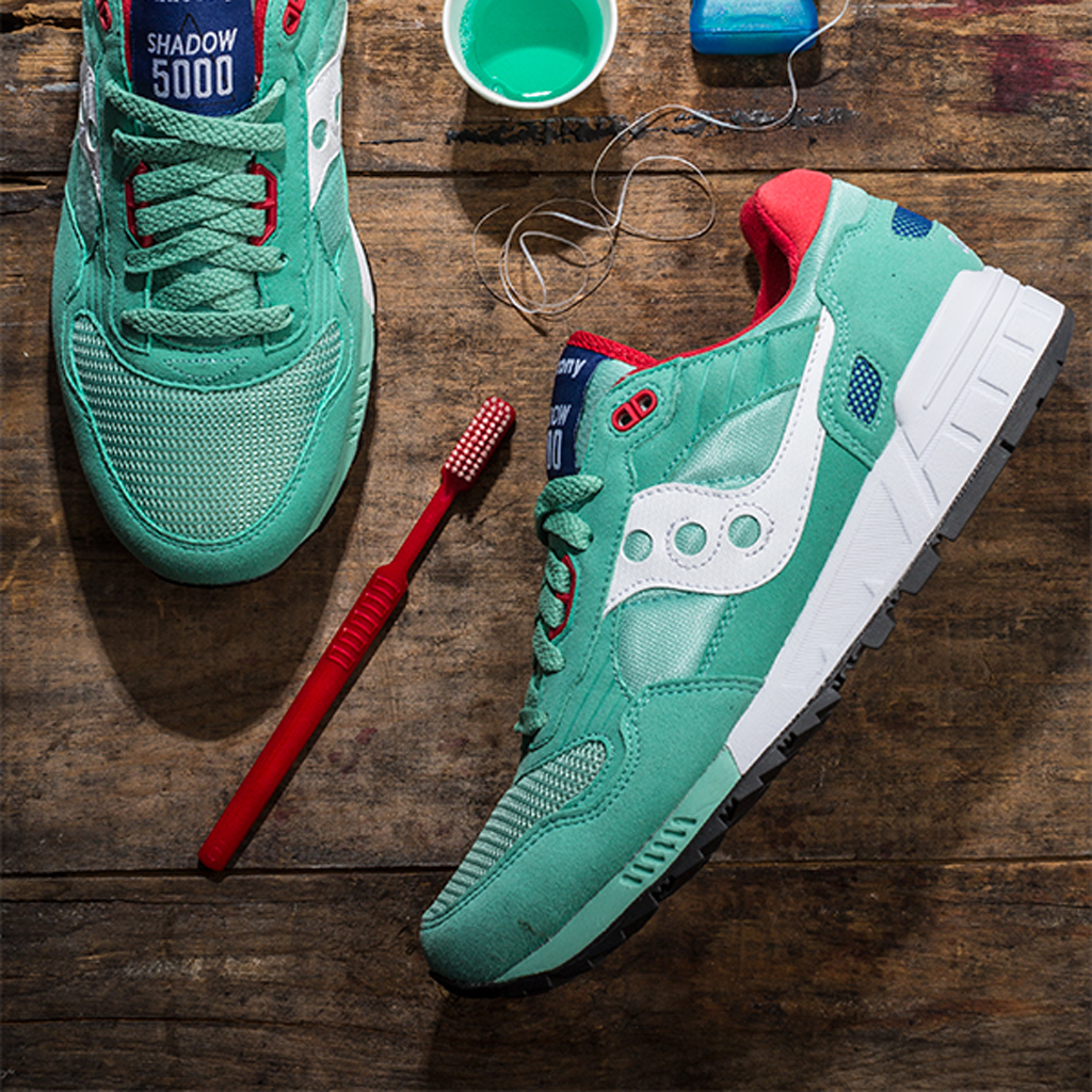 new arrival 09b2b 14be5 saucony shadow 5000 green