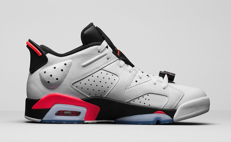 6503702706b086 How to Buy the  Infrared  Air Jordan 6 Low on Nikestore